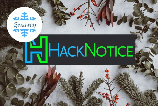 HackNotice Holiday Giveaway
