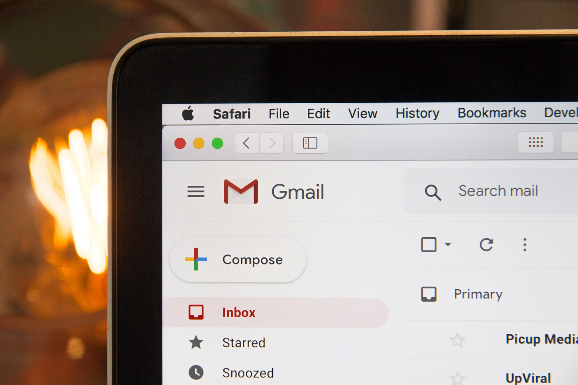 Gmail Closeup