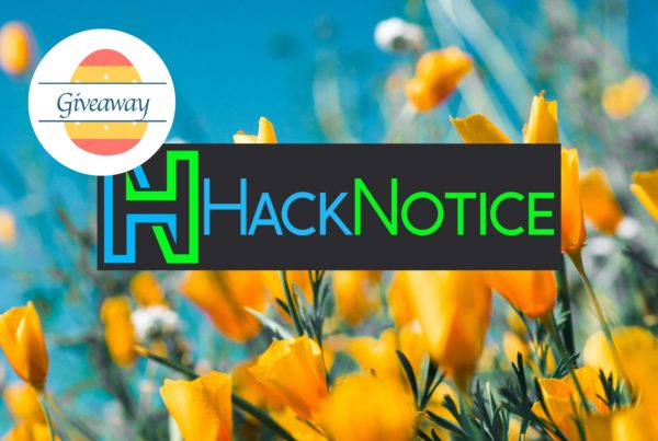 HackNotice Work From Home Spring Cleaning Giveaway