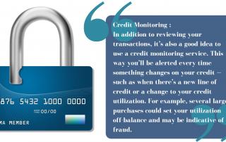 Credit Card Monitoring